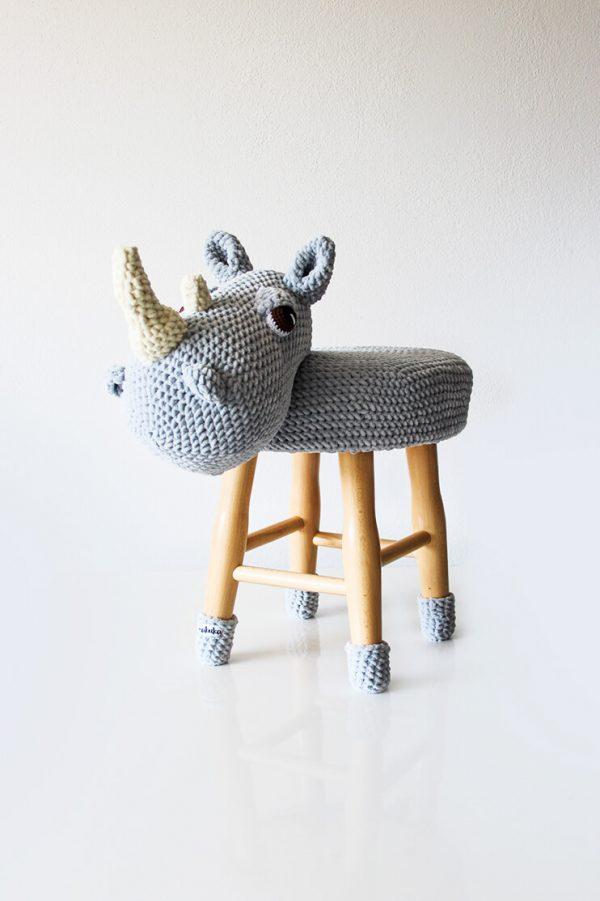 makuka - taburetka - nosorozec Vince